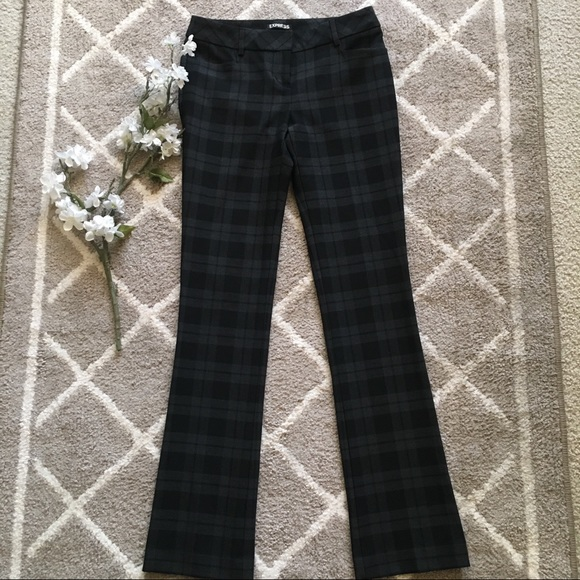 Express Pants - 🛍4for$25 {Express}: Columnist Plaid Career Pants